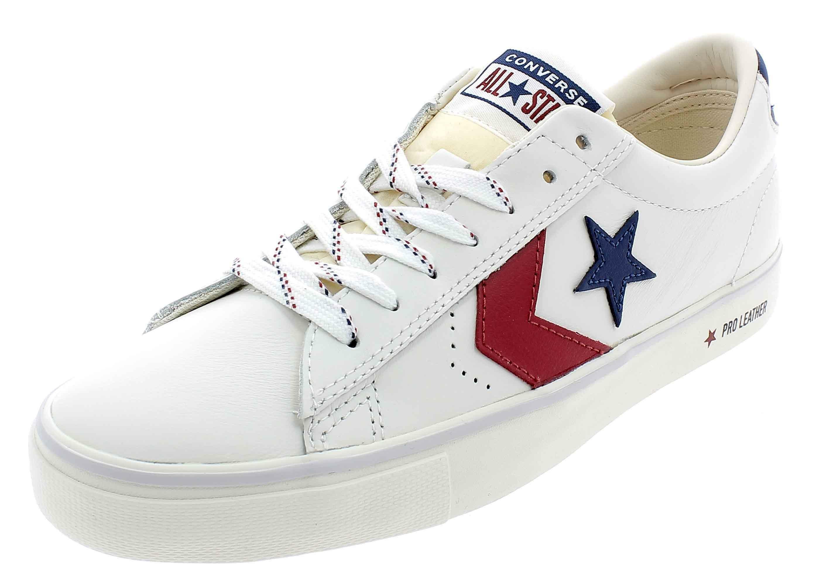 zapatos converse hombre blancos