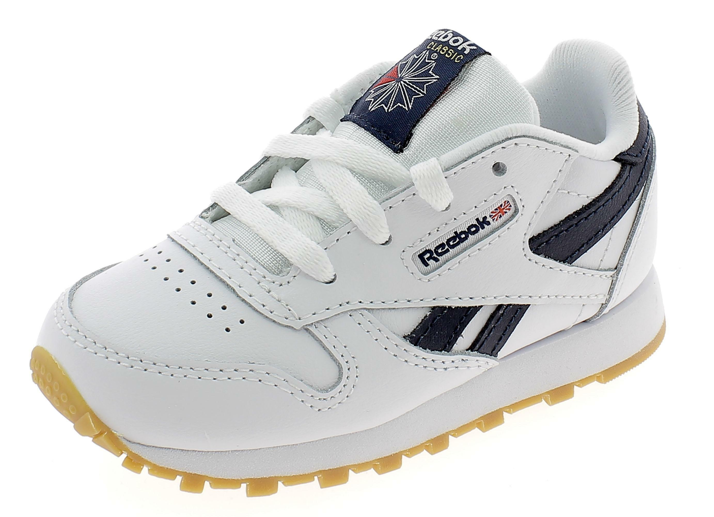 reebok classic leather bianche