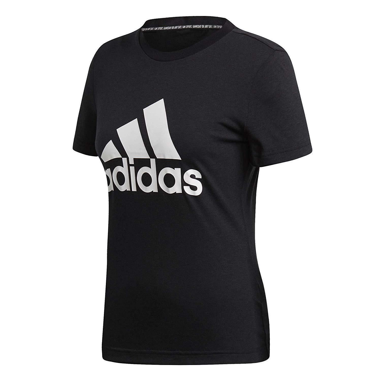tee shirt femme noir adidas