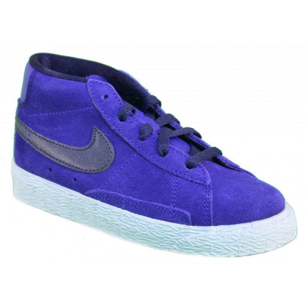 best shoes best choice uk cheap sale Nike Blazer Mid Vintage Ps Chaussures Filles Violet 549552 | eBay