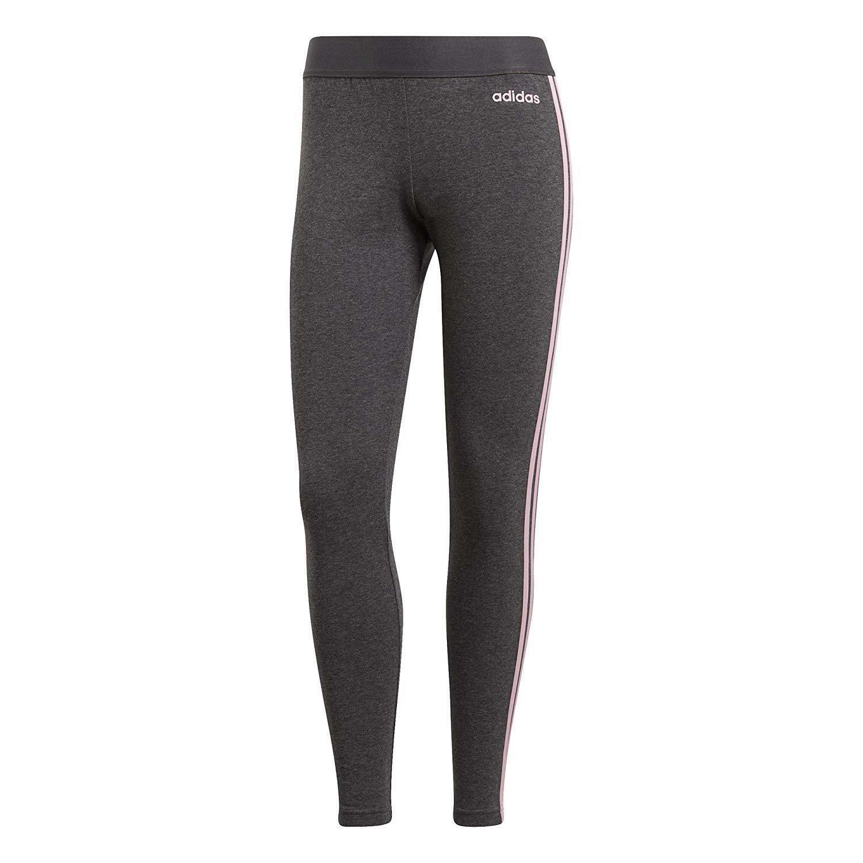 adidas adidas w 3 stripes tight leggings donna grigi du0682