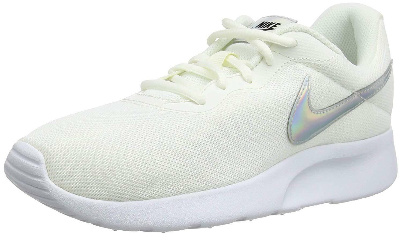 nike tanjun scarpe sportive donna bianche 812655104