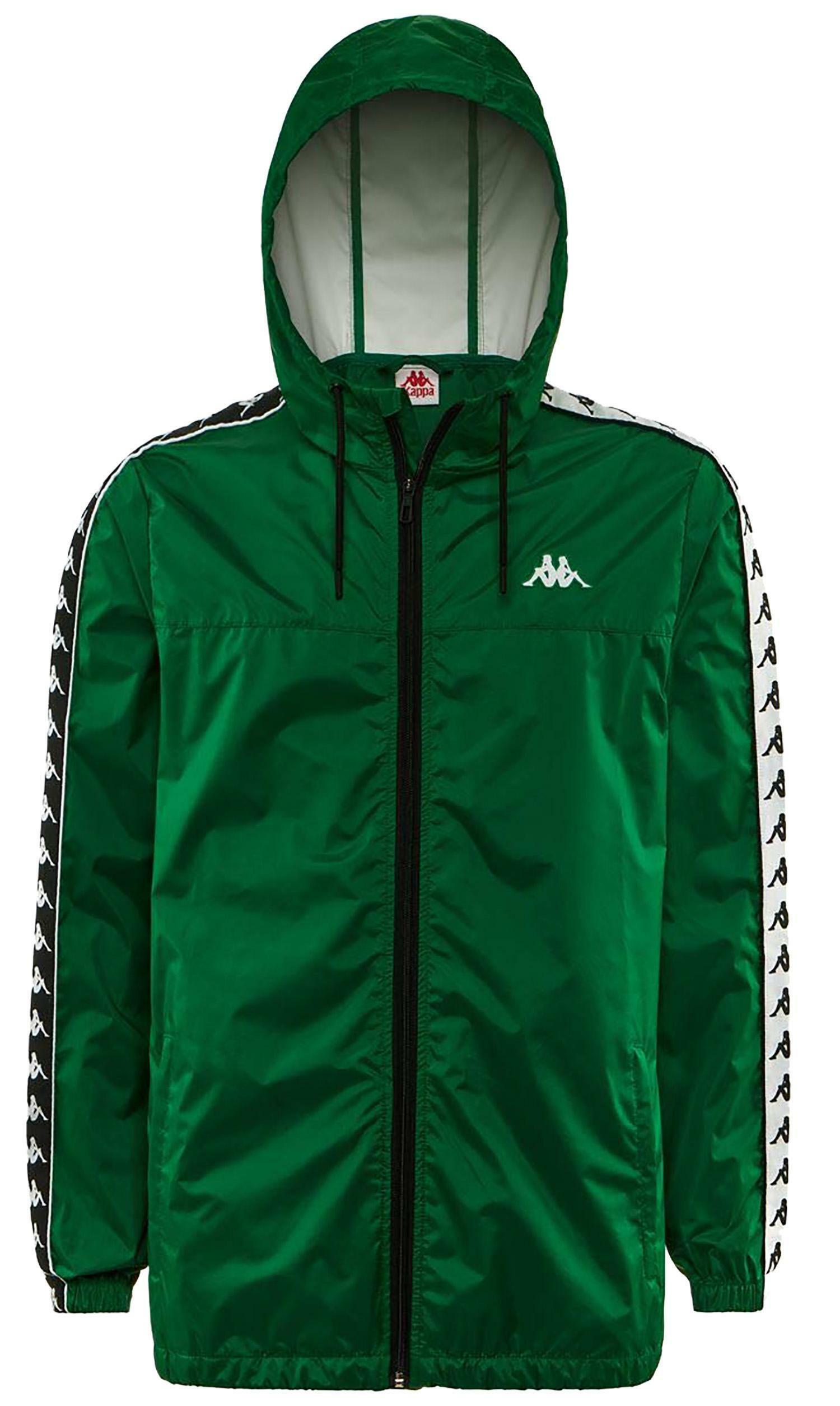scarpe di separazione 4195a 21aee Kappa giacca a vento uomo verde 303wa70