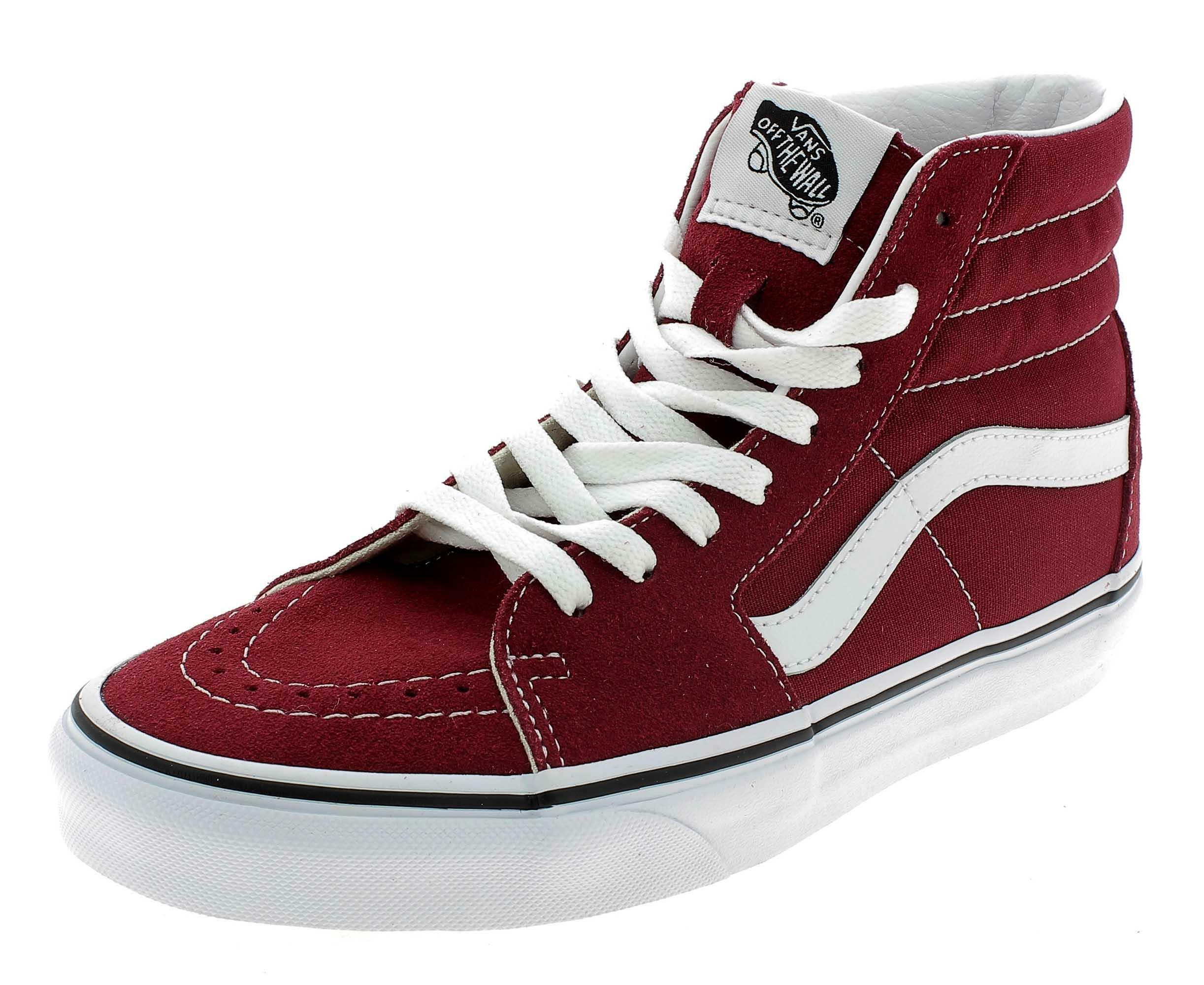 vans sk8-hi old skool alte scarpe sportive bordeaux vn0a38gevg41