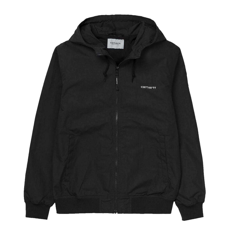 online retailer 2f5a4 94447 Carhartt marsh jacket giacchetto uomo nero i025756c427
