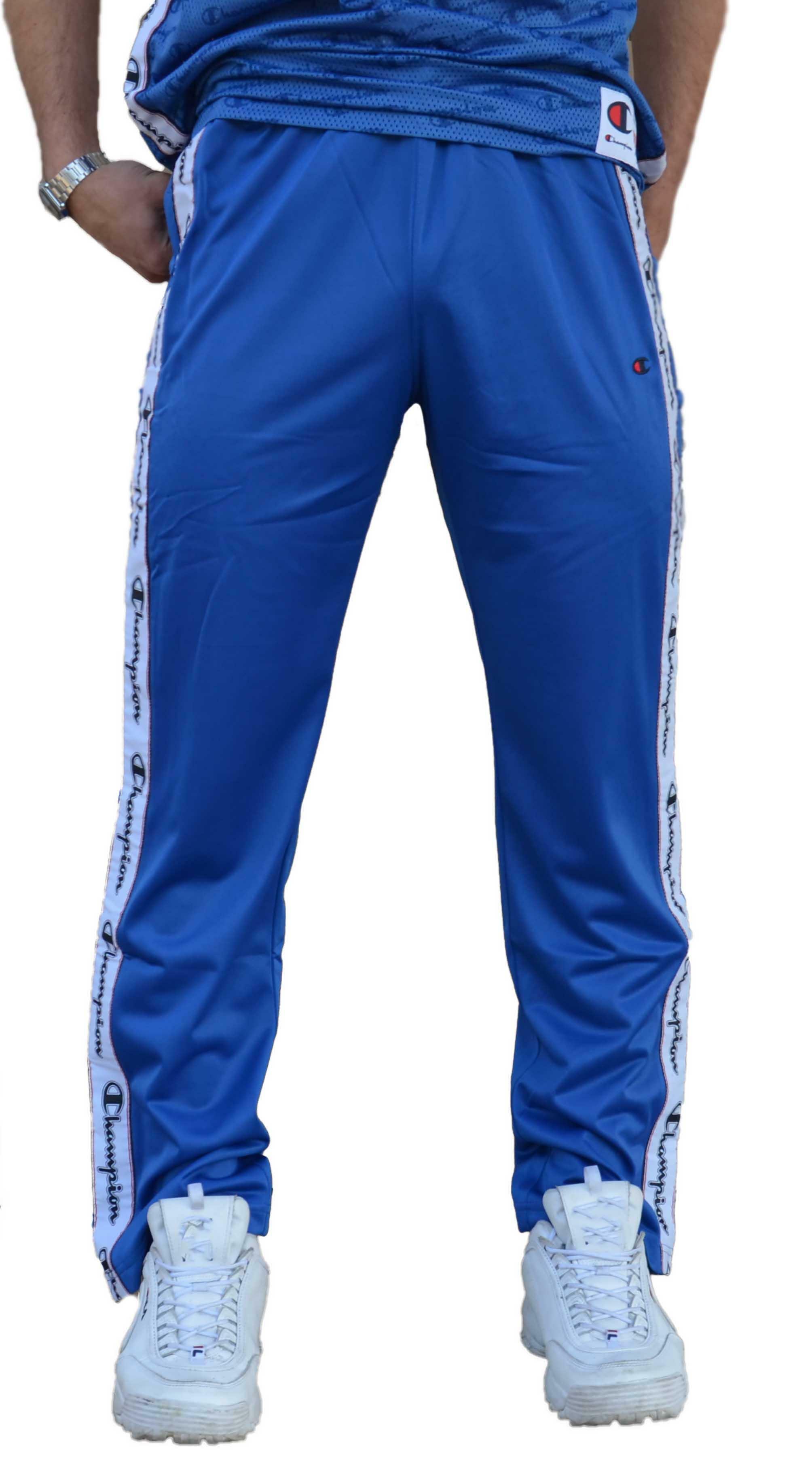 Uomo 213385bs023 Champion Pantaloni Azzurri 08nwNm