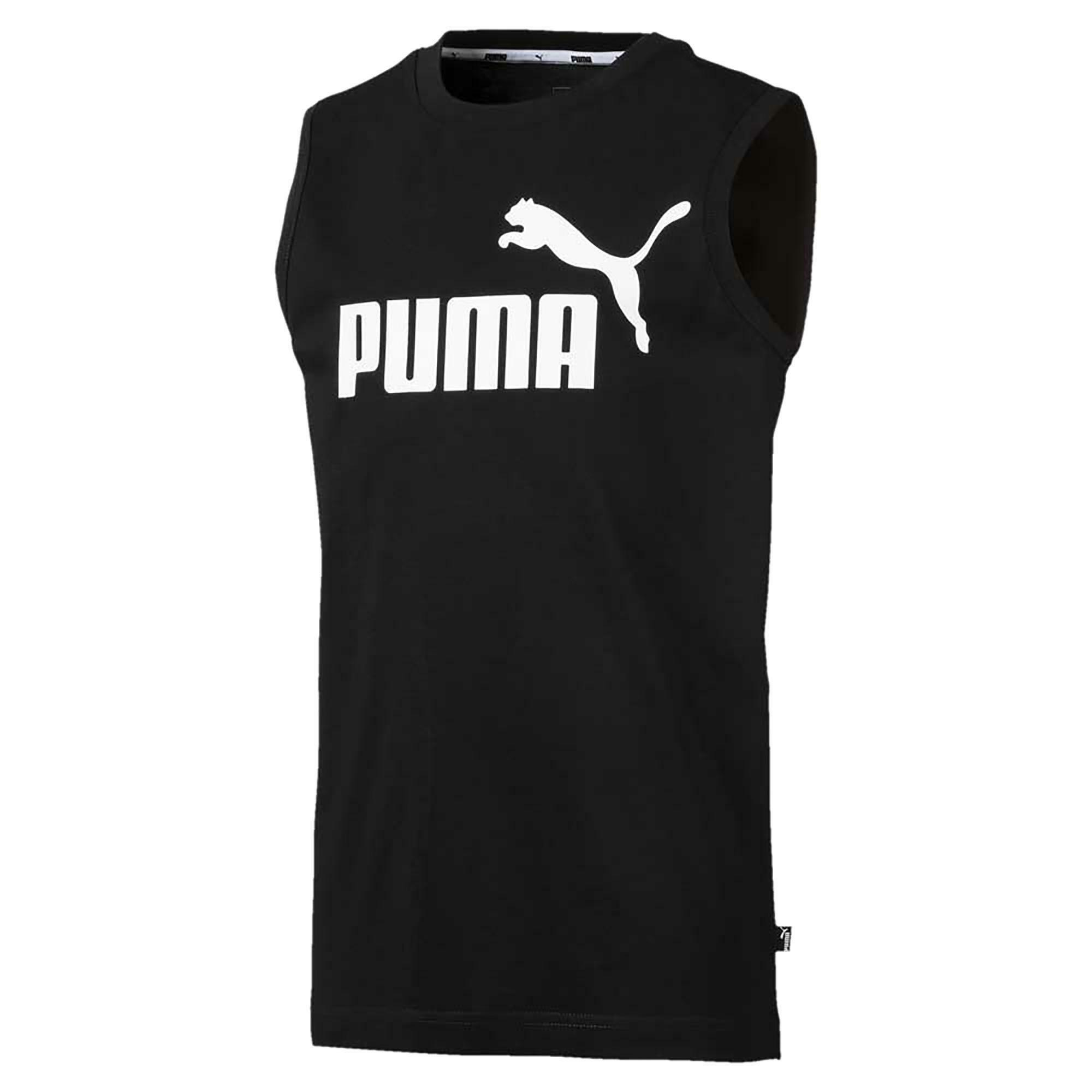 puma ess sleeveless canotta bambino nera 85443601