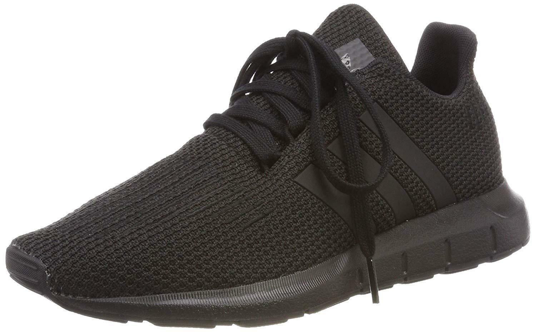 adidas swift run j scarpe sportive bambino nere f34314