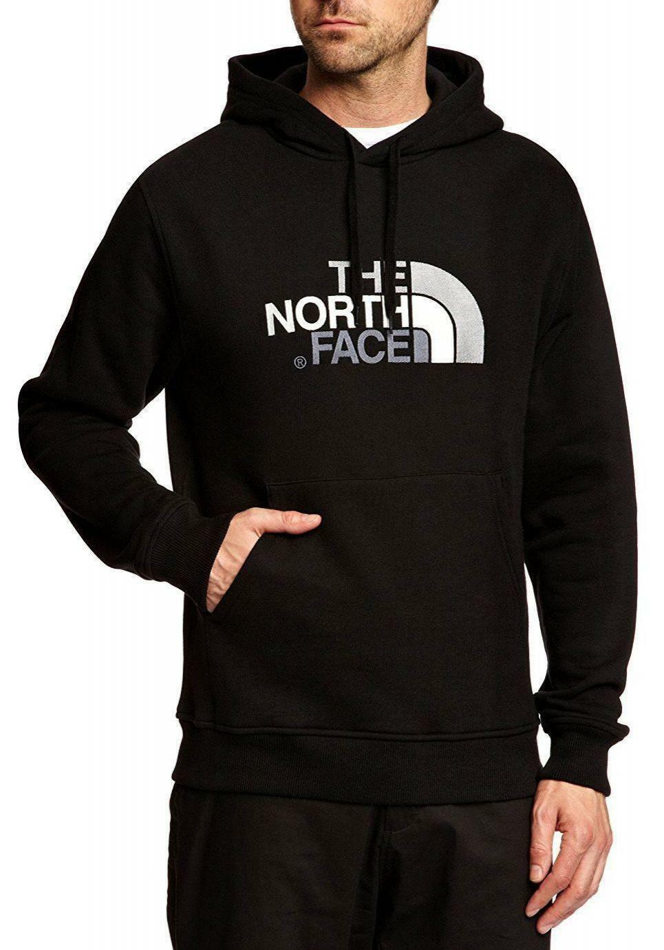 the north face drew peak felpa uomo nera