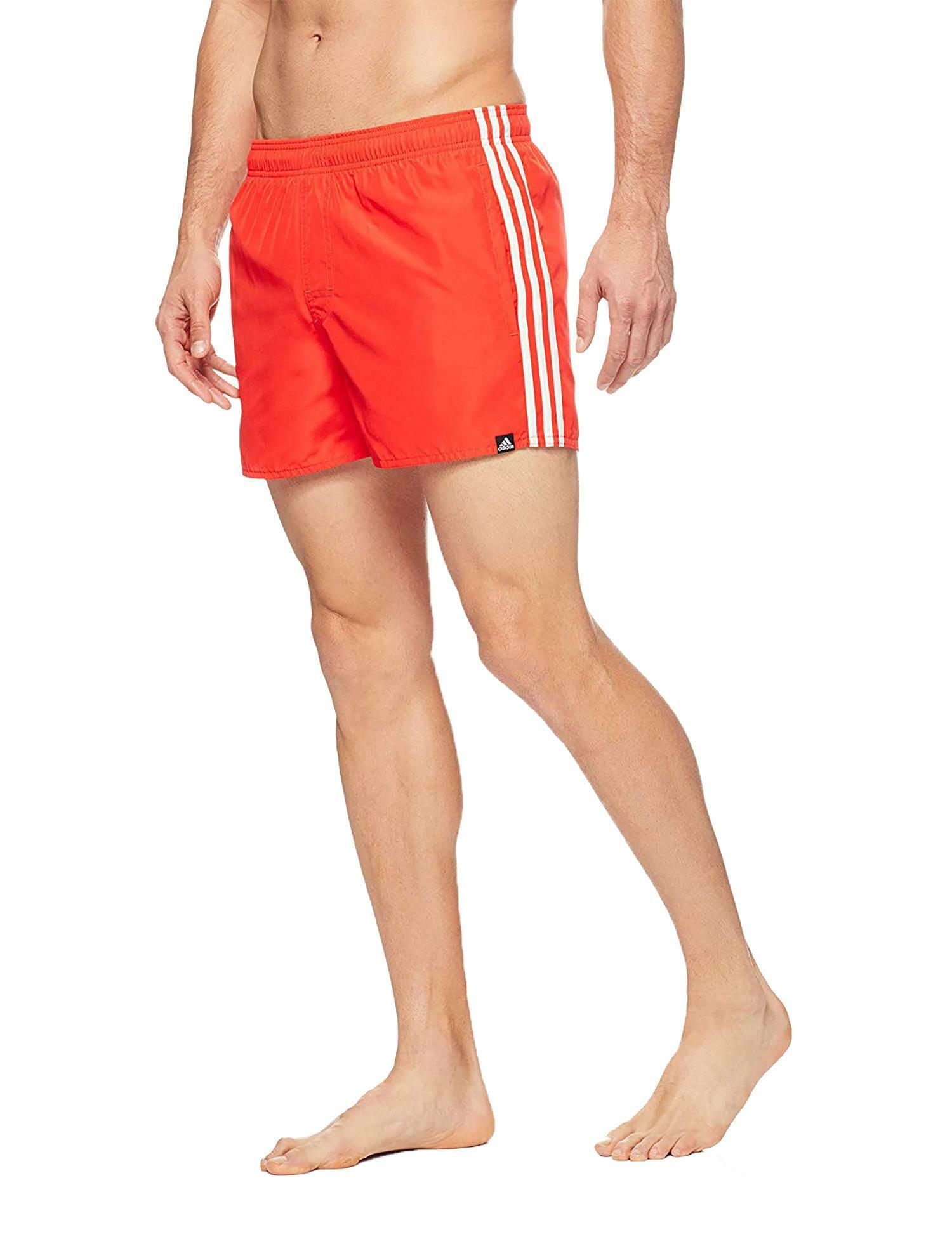 costume adidas rosso uomo