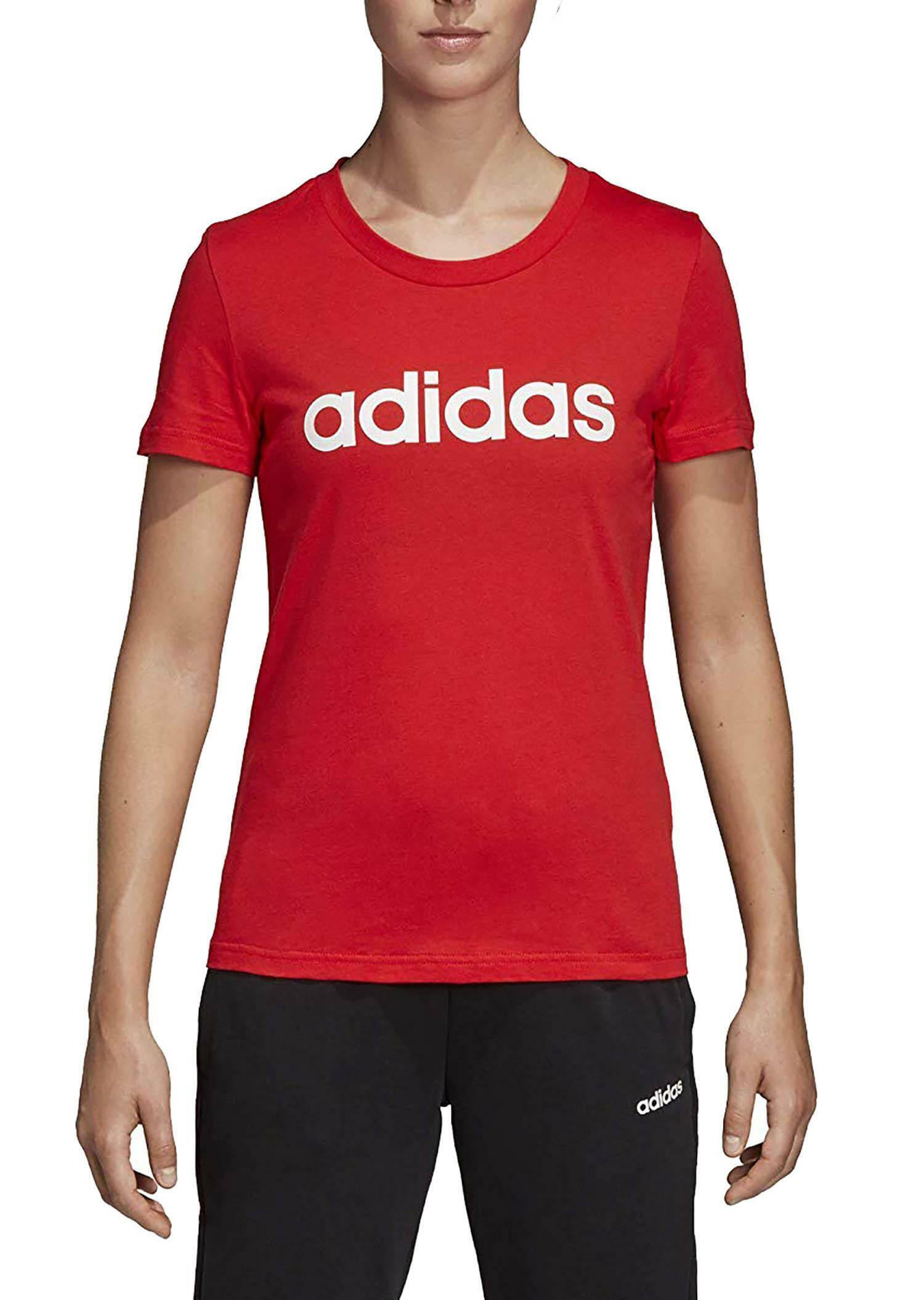 t shirt adidas femme rouge