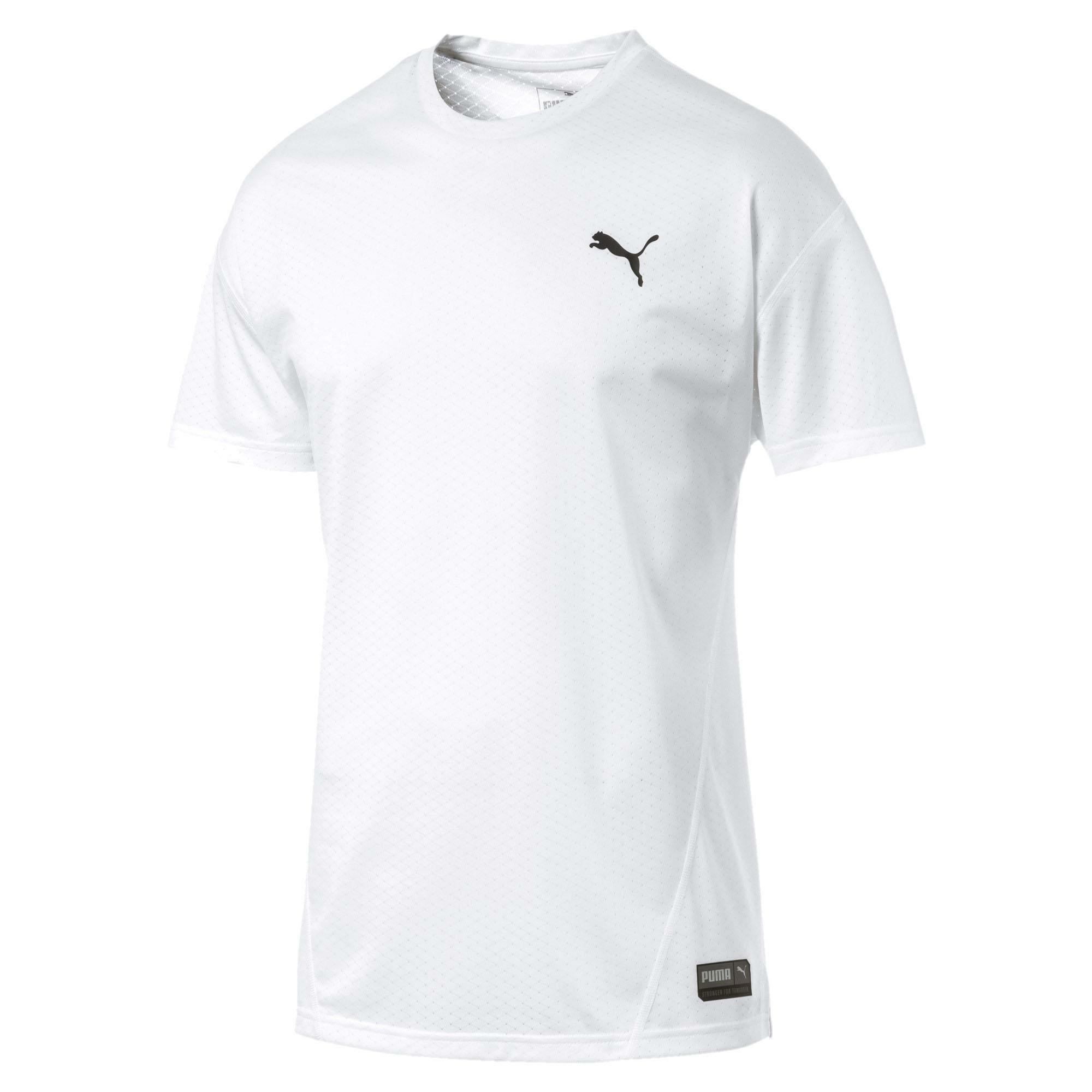 maglietta puma uomo bianca