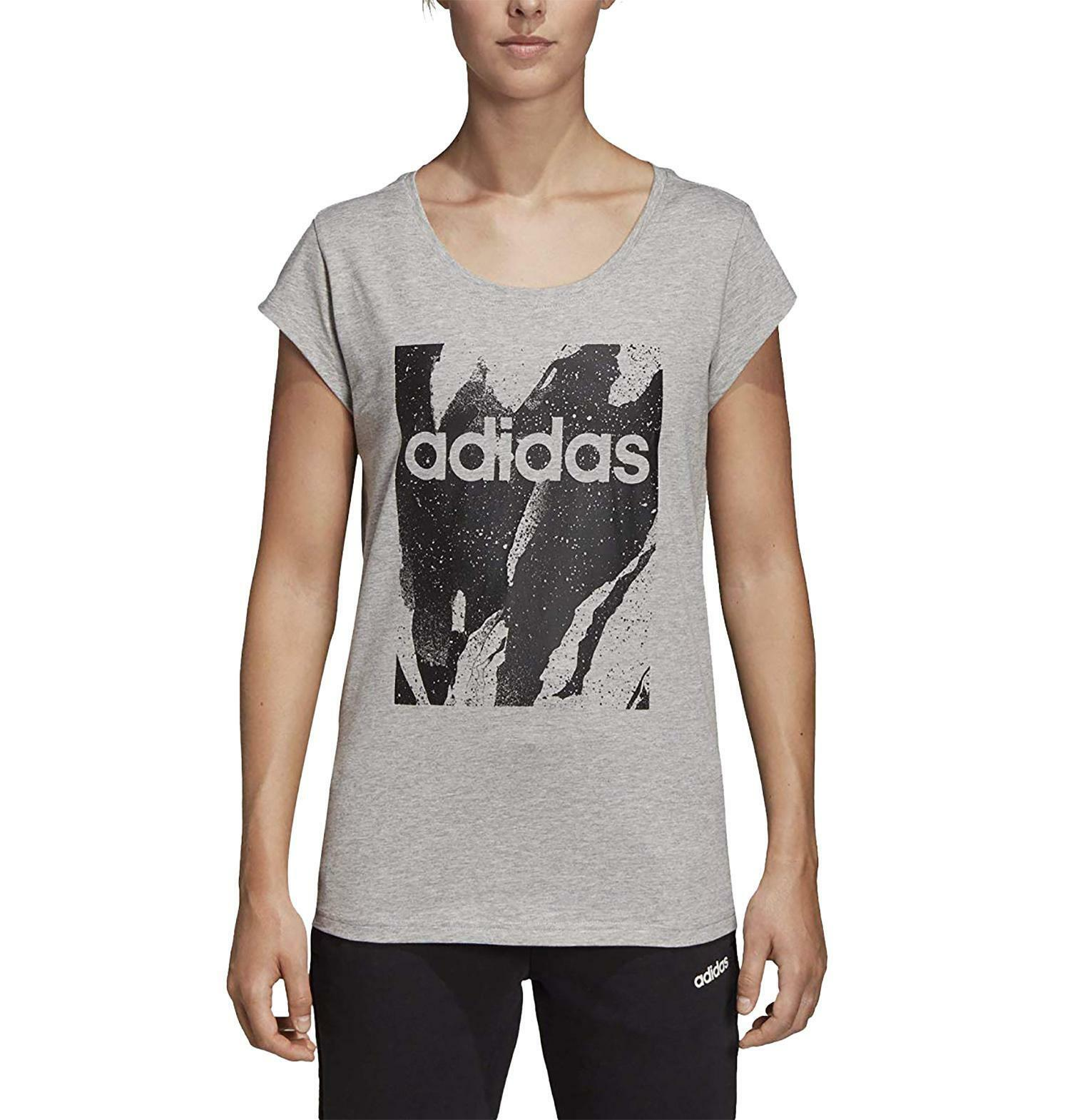 adidas Damen W E AOP T-Shirt