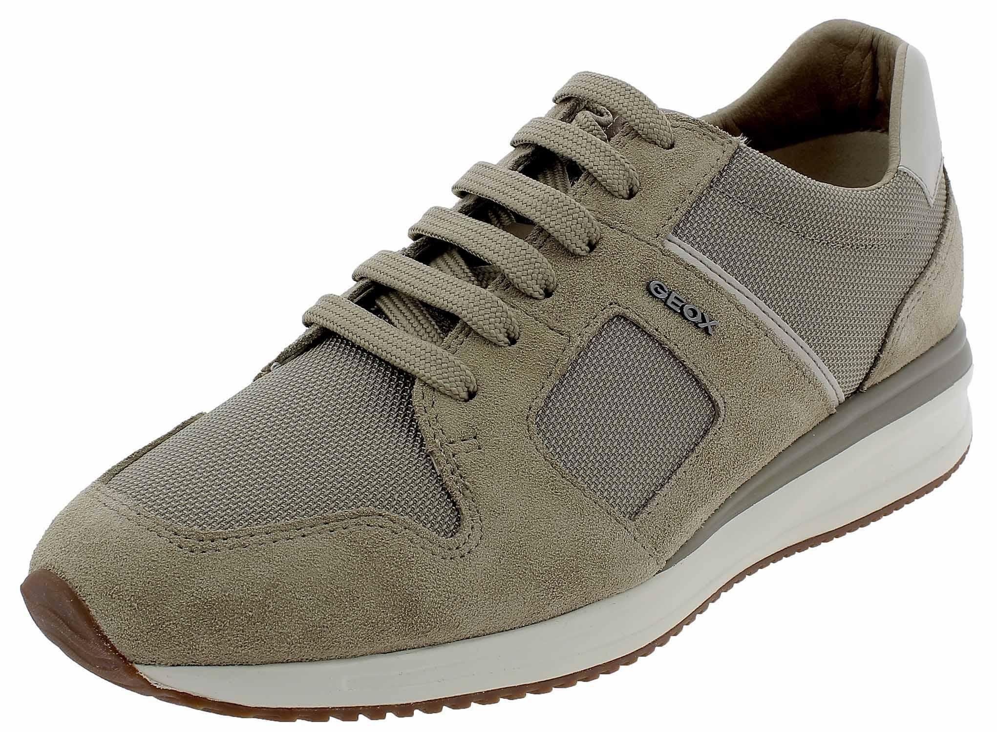 Uomo scarpa sportiva, colore Beige , marca GEOX, modello