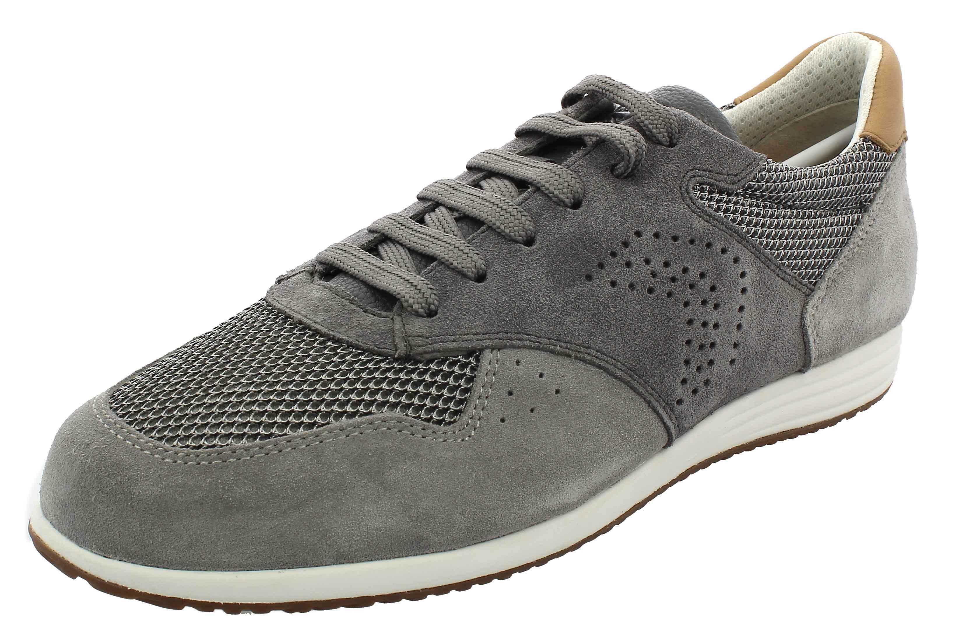 geox u arsien scarpe uomo grigie u926nac1071
