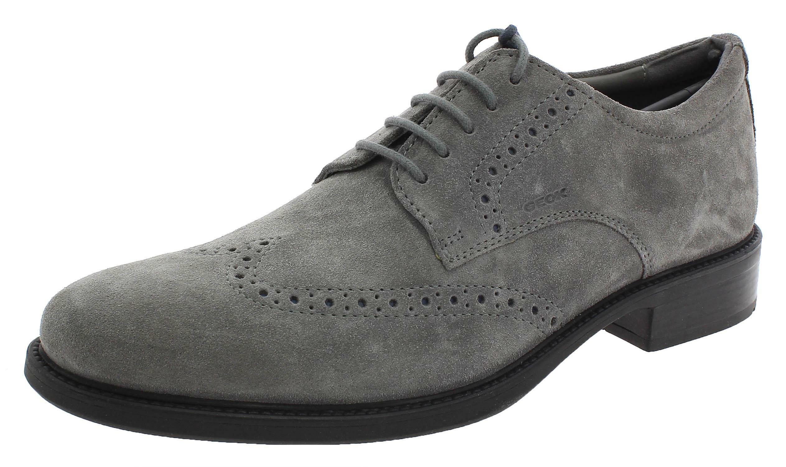 geox u carnaby b scarpe uomo grigie u92w1bc1006