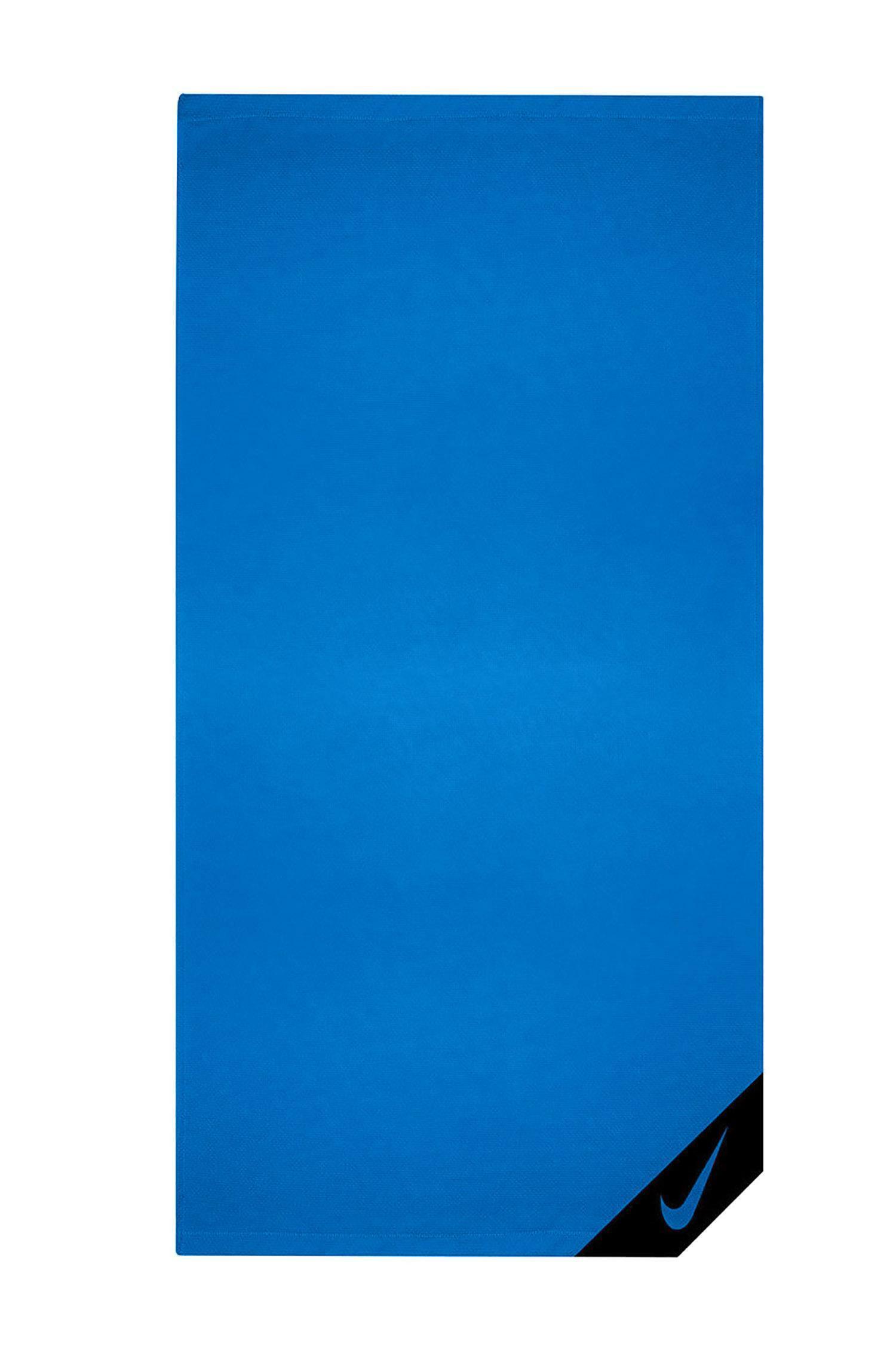 nike cooling towel telo blu nttd1492ns