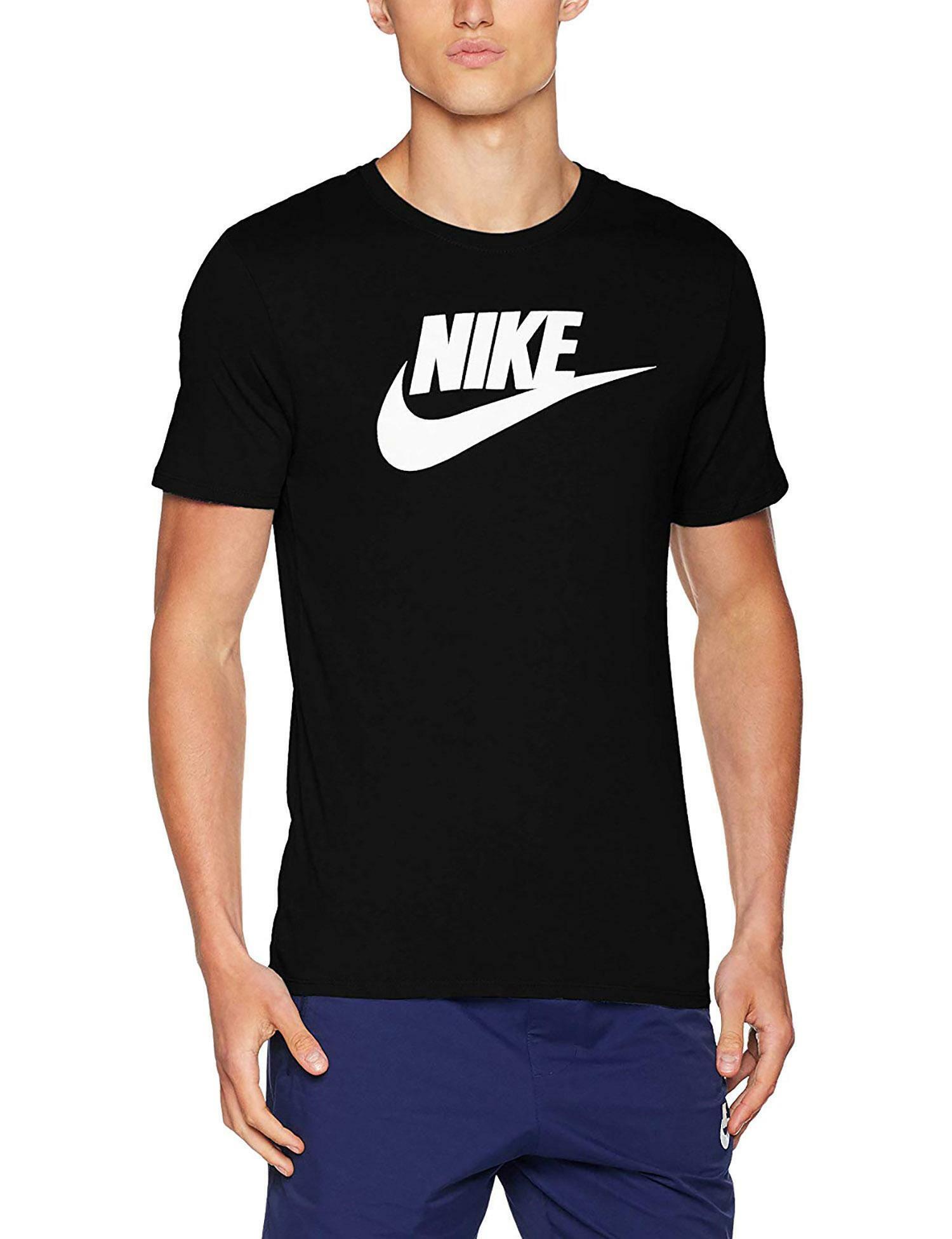 nike t-shirt uomo nera ar5004010
