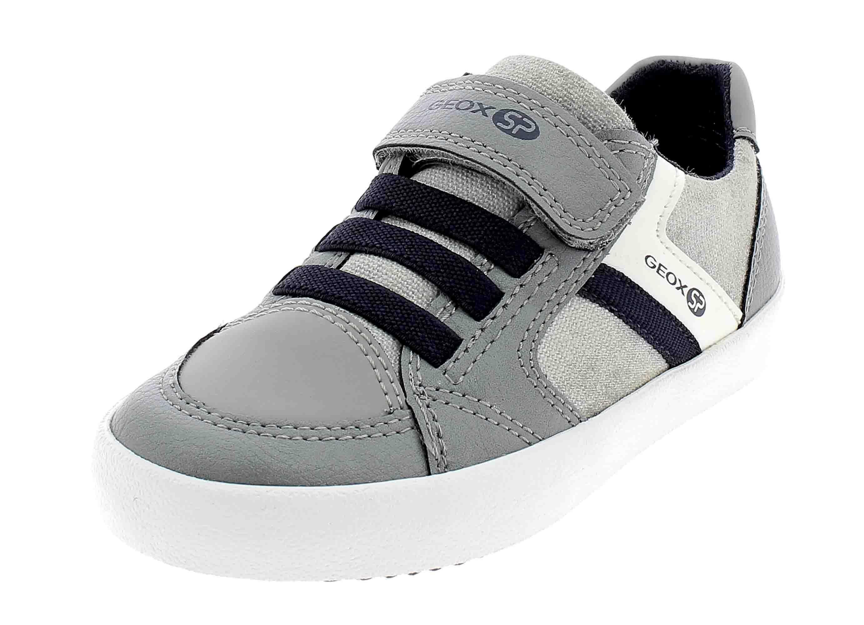 Geox j gisli scarpe sportive bambino grigio j925cbc0665