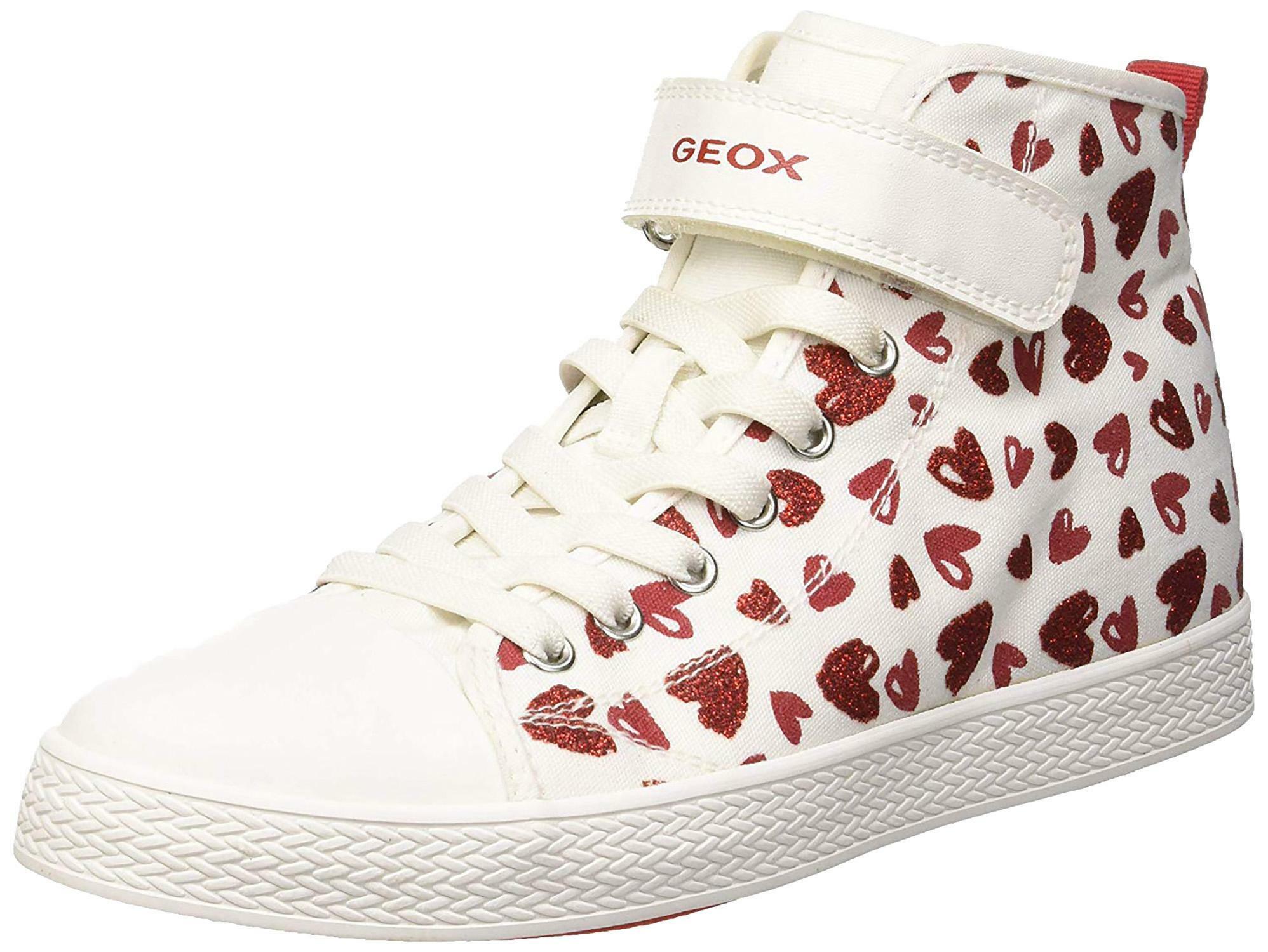 geox j ciak g scarpe sportive bambina bianche j9204ac0050