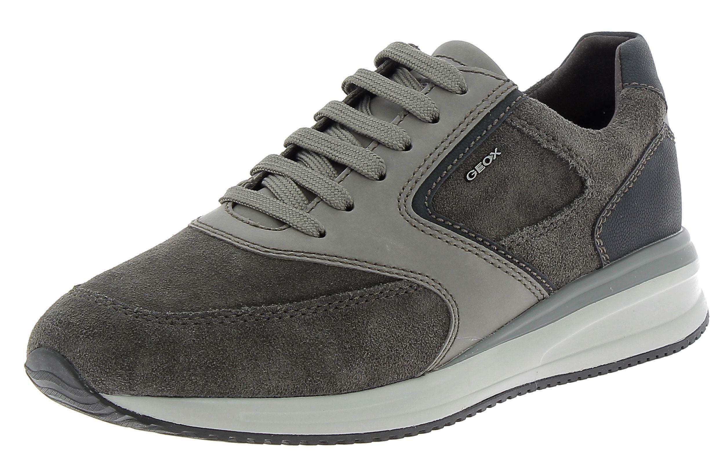 geox u dennie a scarpe sportive uomo grigie