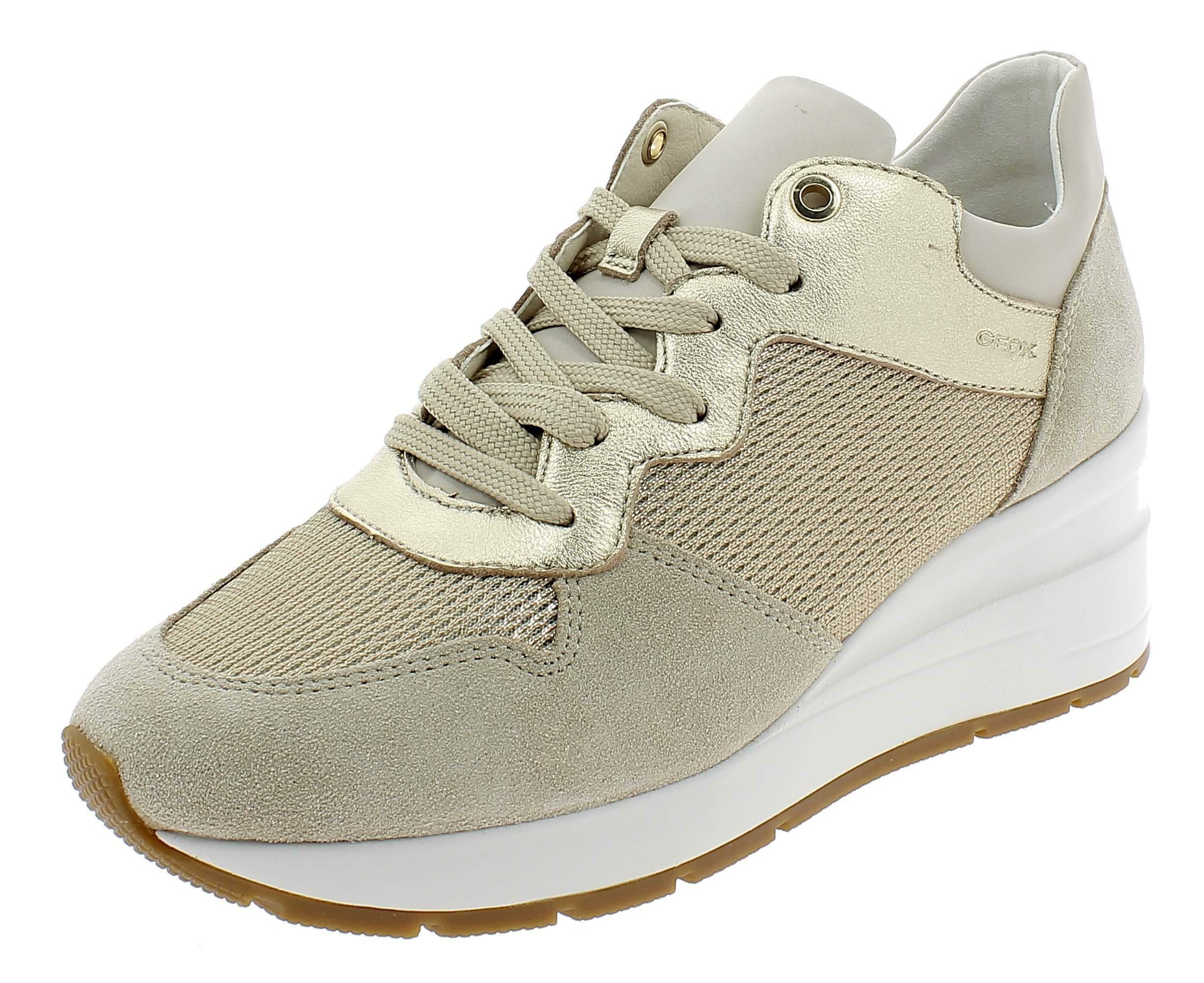 f91fabdf4c Geox d zosma c scarpe sportive donna beige d828lcc0434