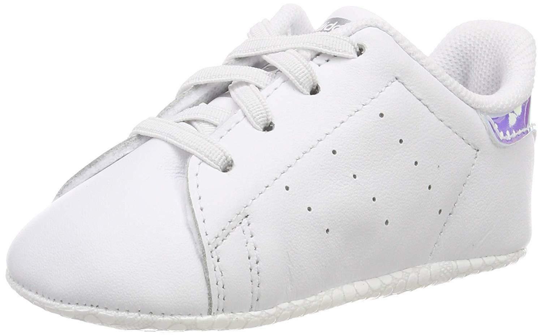 adidas stan smith crib scarpe sportive bambina bianche