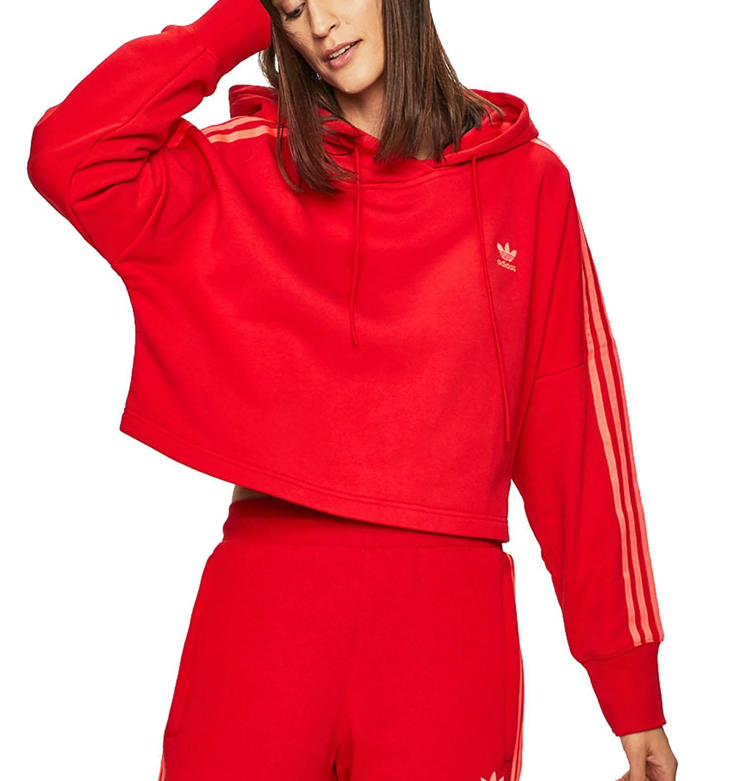 cropped hoodie adidas donna