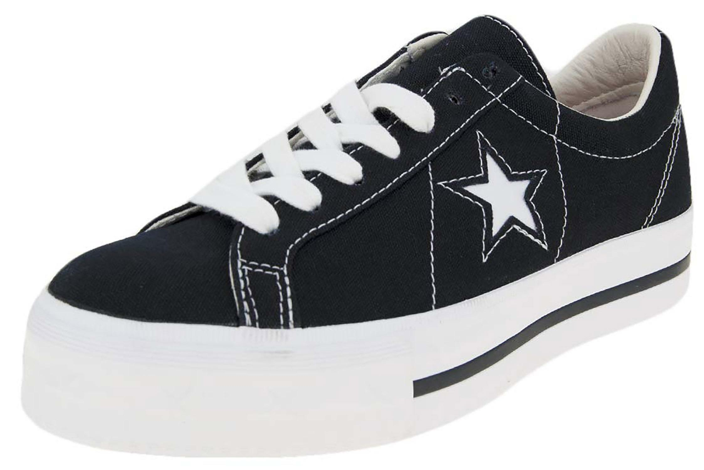2converse one star nere