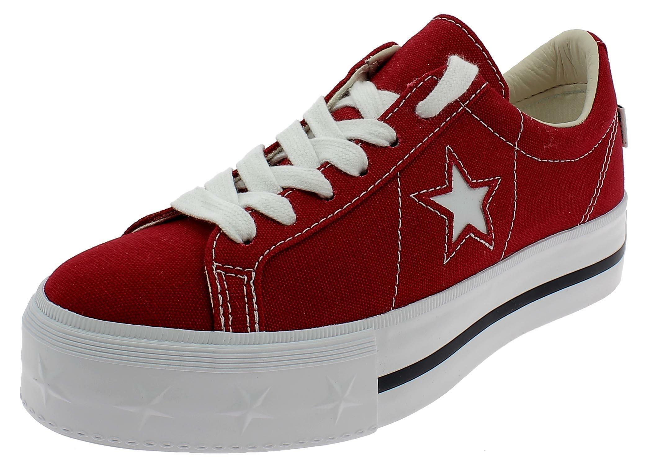 converse scarpe donna rosse