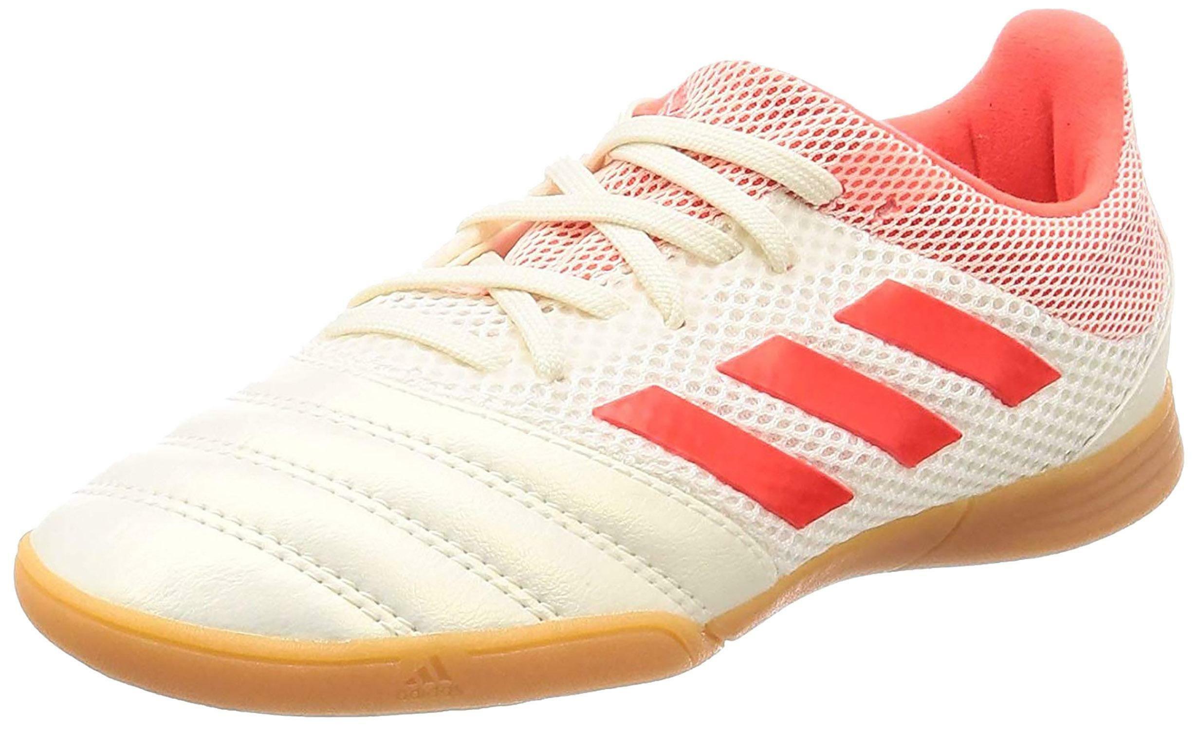 Adidas copa 19.3 in sala j scarpini calcetto bambino bianchi g28982