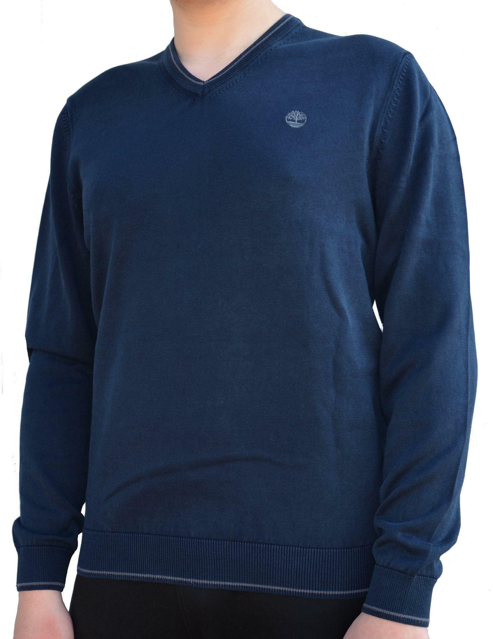 timberland timberland long point jumper maglioncino uomo blu 0yh1ntb9