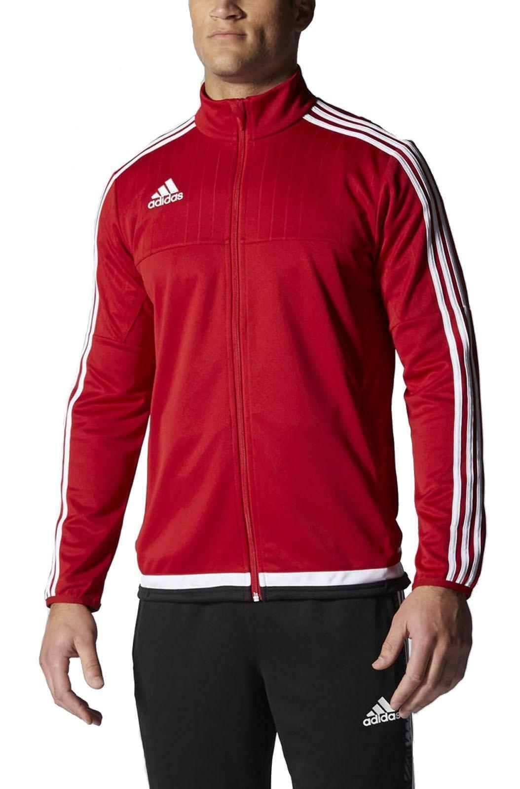 adidas tiro15 trg giacchetto zip uomo rosso m64060