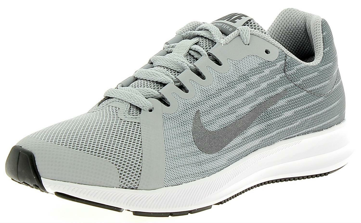 reputable site 9a63c 9a372 Nike Downshifter 8 Gs Kids Sports Shoes Grey