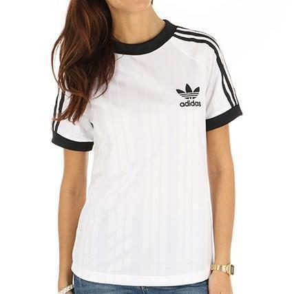Dettagli su Adidas SC Football T-Shirt Donna Bianca