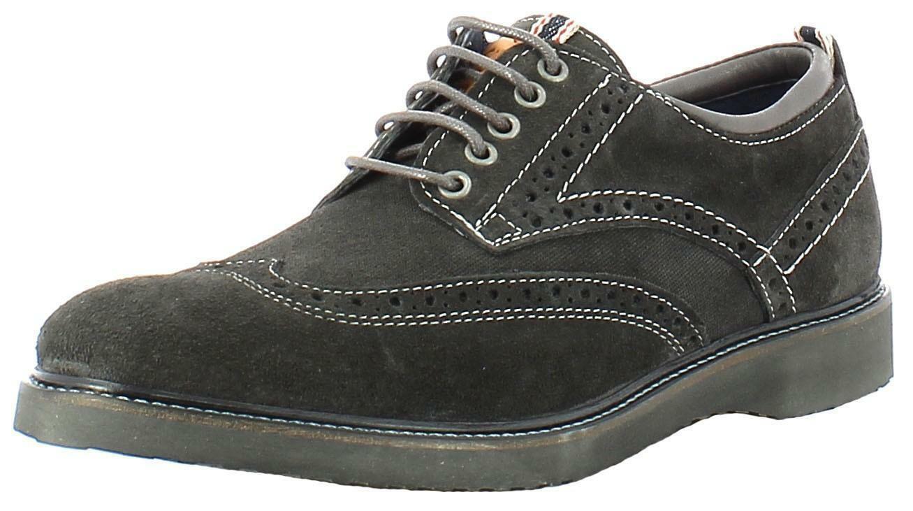 wrangler wrangler crossfield brogue scarpe uomo grigi wm162071