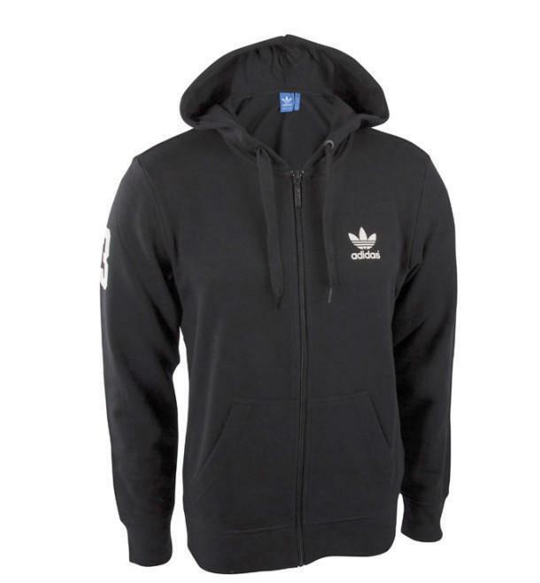 adidas adidas giacchetto uomo nero basketball hoodie aj7099