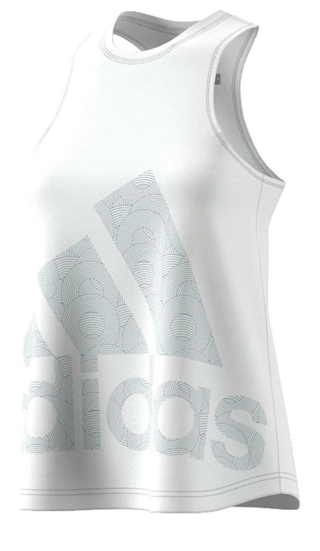adidas adidas logo cool canotta donna bianca cv5106