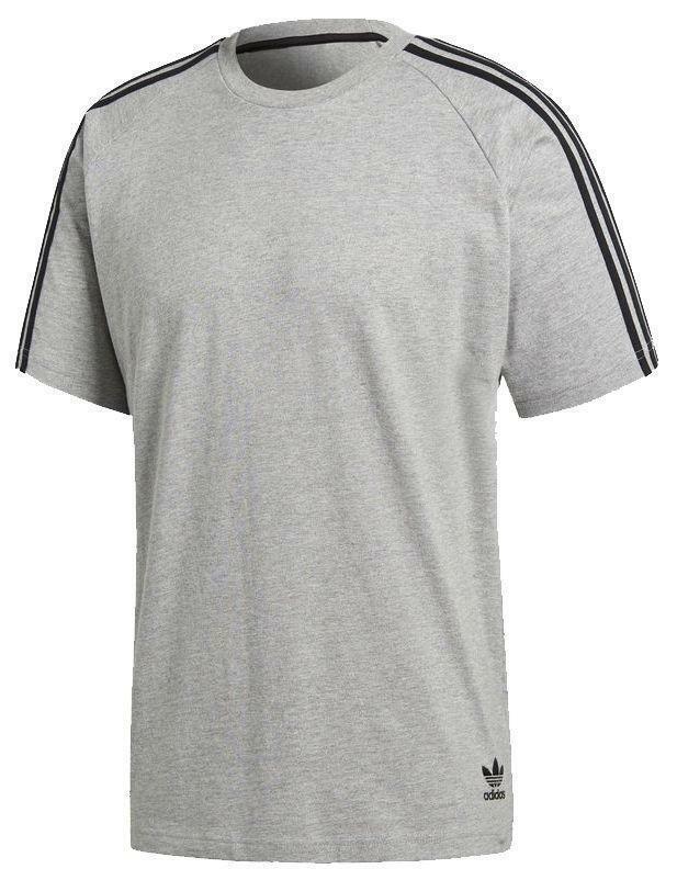 adidas adidas curated tee t-shirt uomo grigia