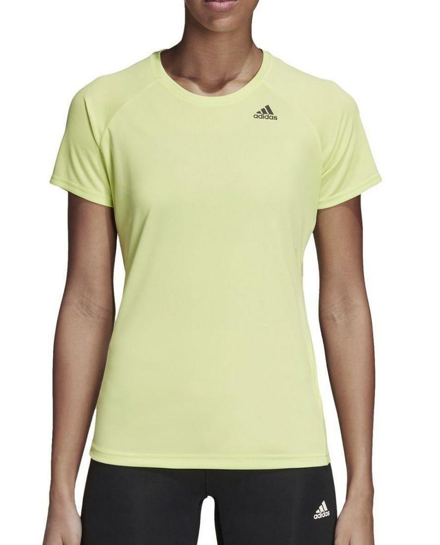 adidas adidas d2m tee lose t-shirt donna gialla