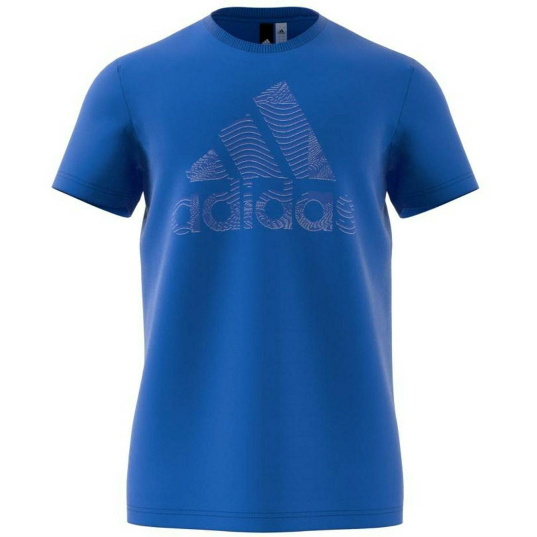 adidas adidas id bos t-shirt uomo blu cw3605