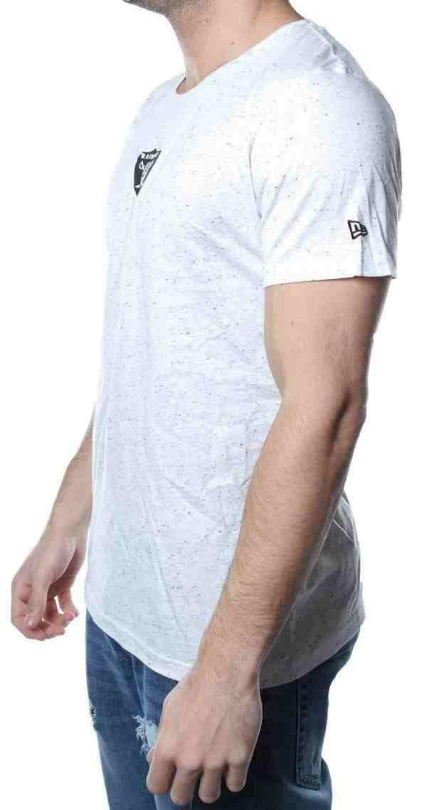 new era new era concrete ss tee t-shirt uomo bianca