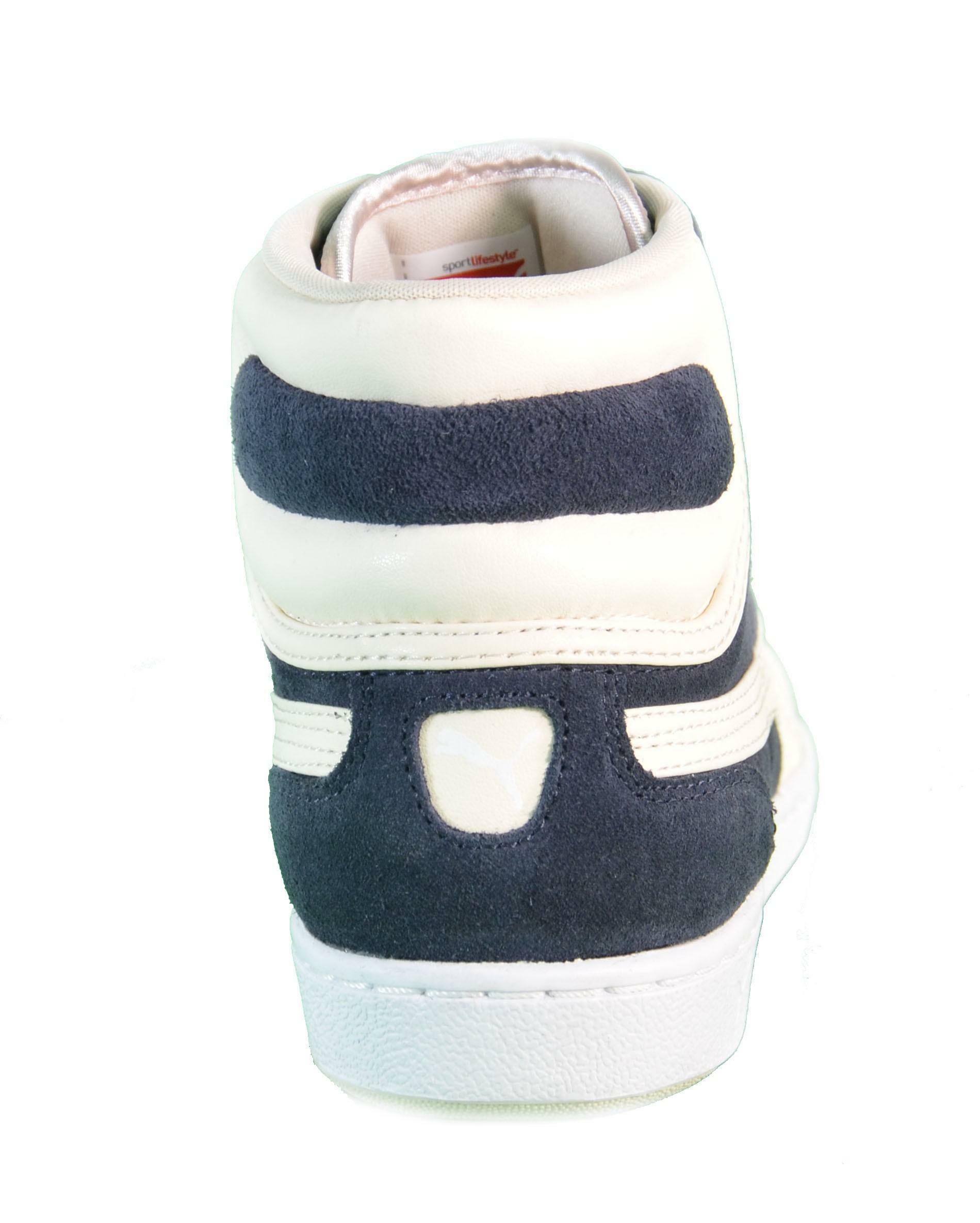 puma puma cross shot wn's scarpe sportive uomo blu pelle lacci 355849