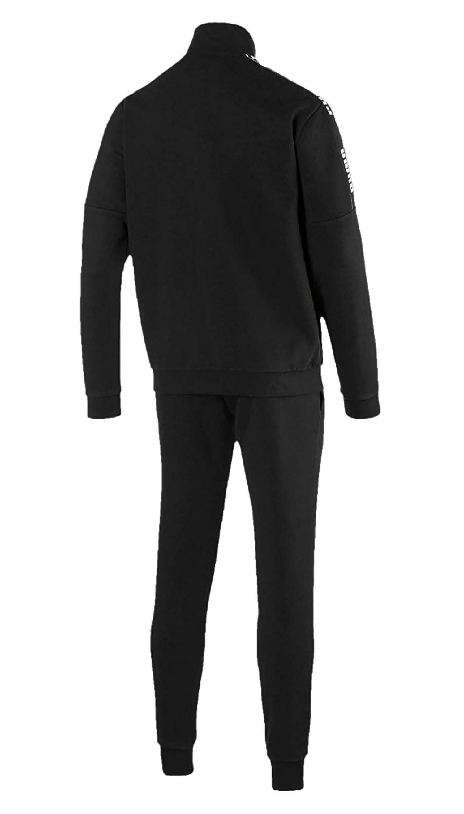 puma puma amplified sweat suit tuta uomo nera 58048901