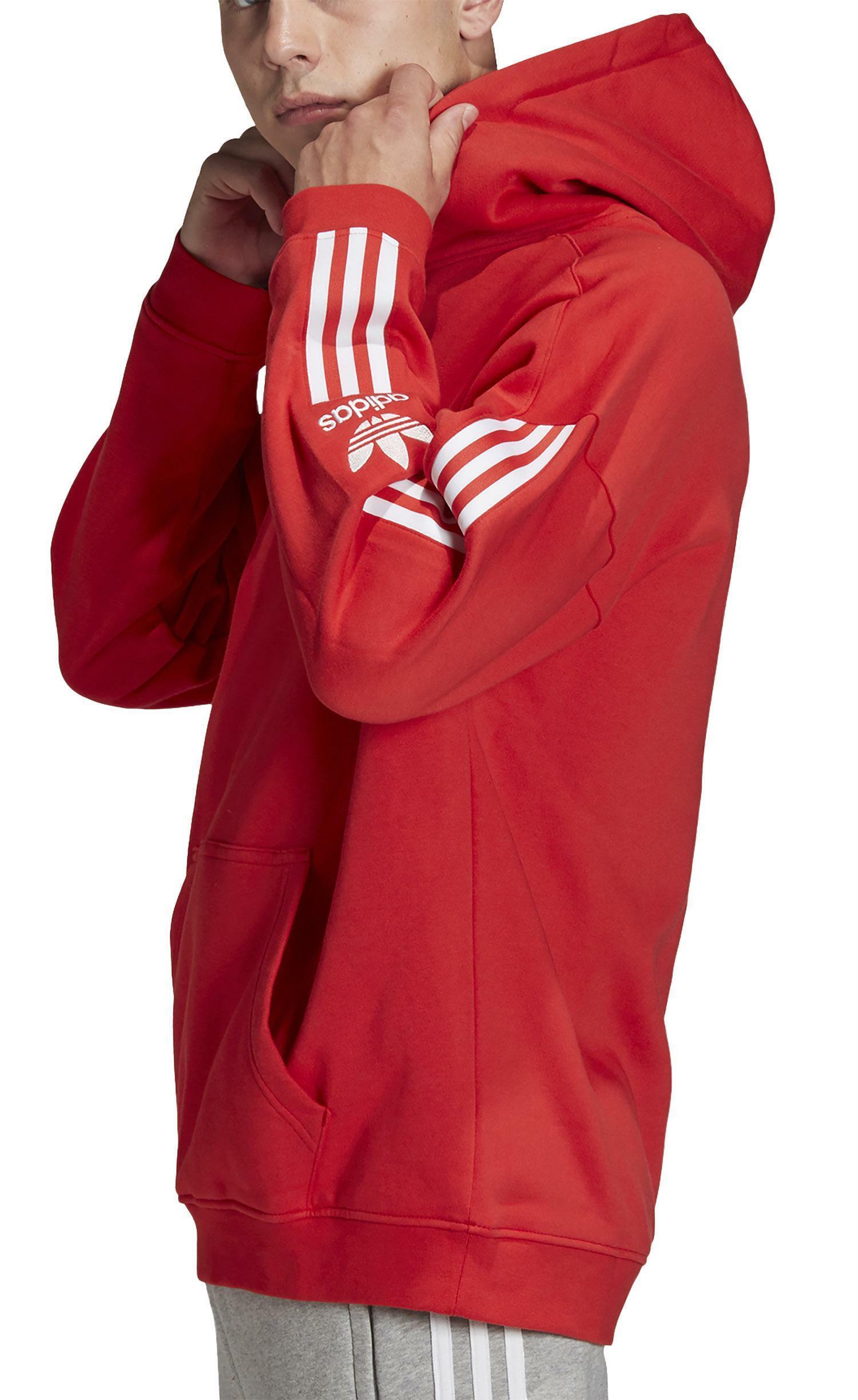 perturbazione Fugace sono daccordo  Adidas tech felpa con cappuccio uomo rossa fm3800