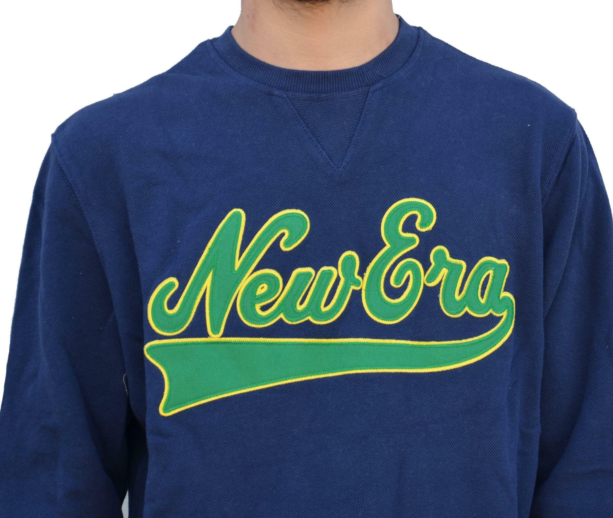 new era new era apparel felpa uomo blu