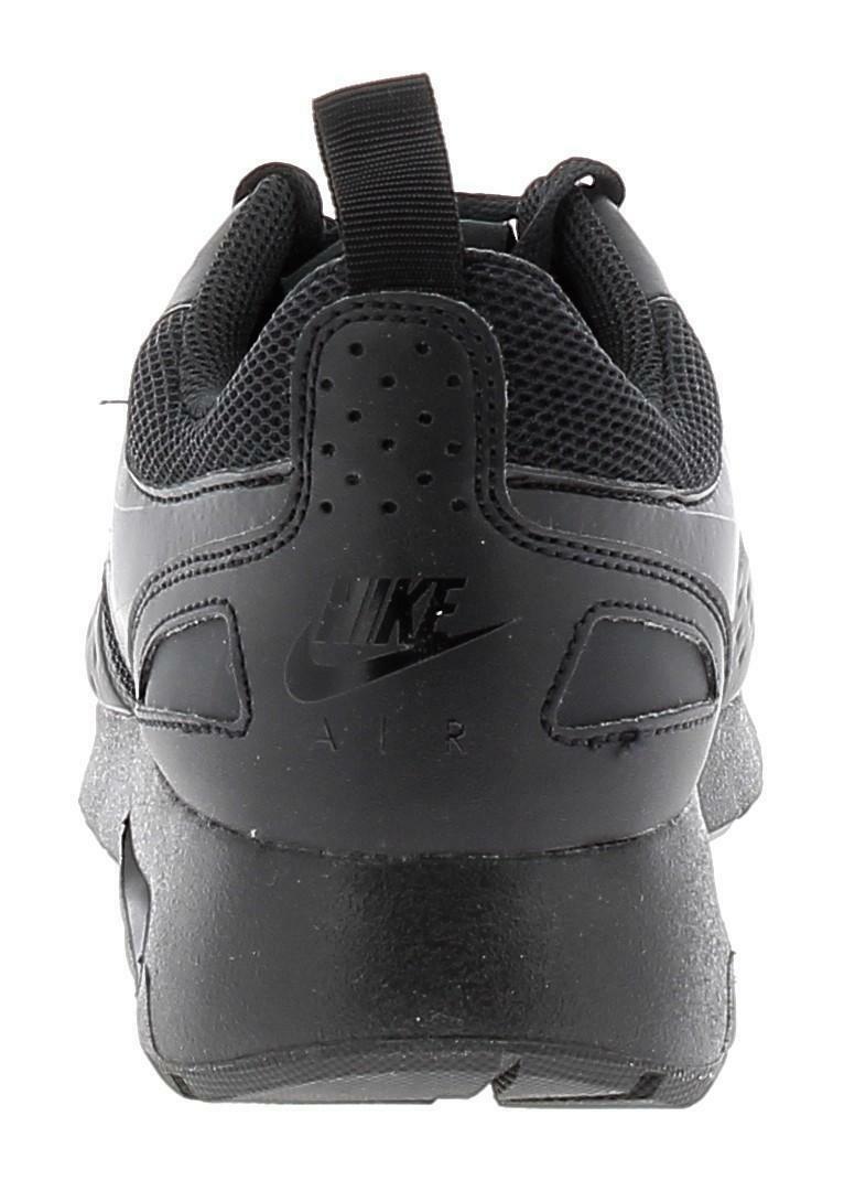 sports shoes 5811e b8334 NIKE AIR MAX VISION SCARPE SPORTIVE UOMO PELLE E TELA NERE | eBay