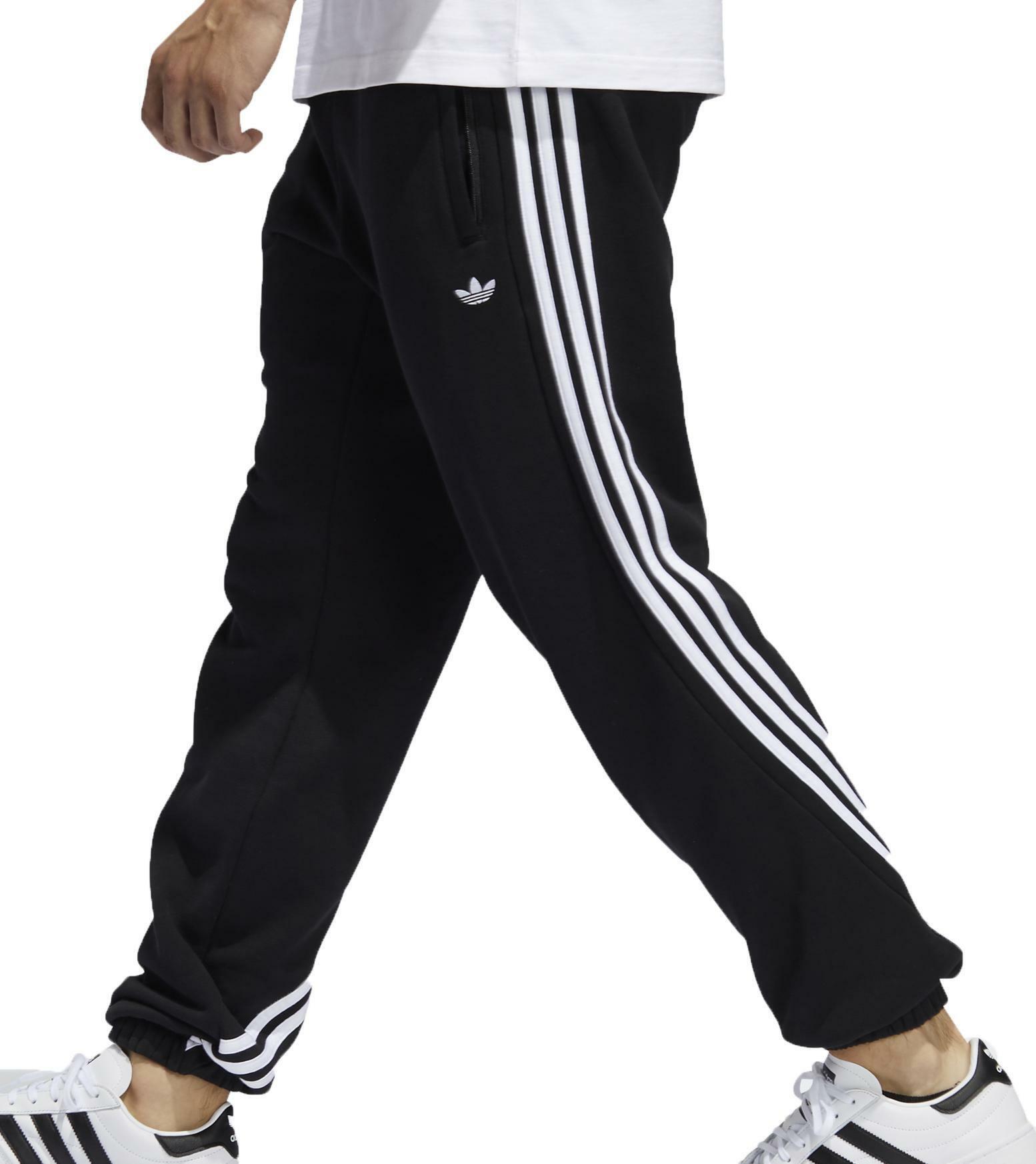 pantaloni neri adidas uomo