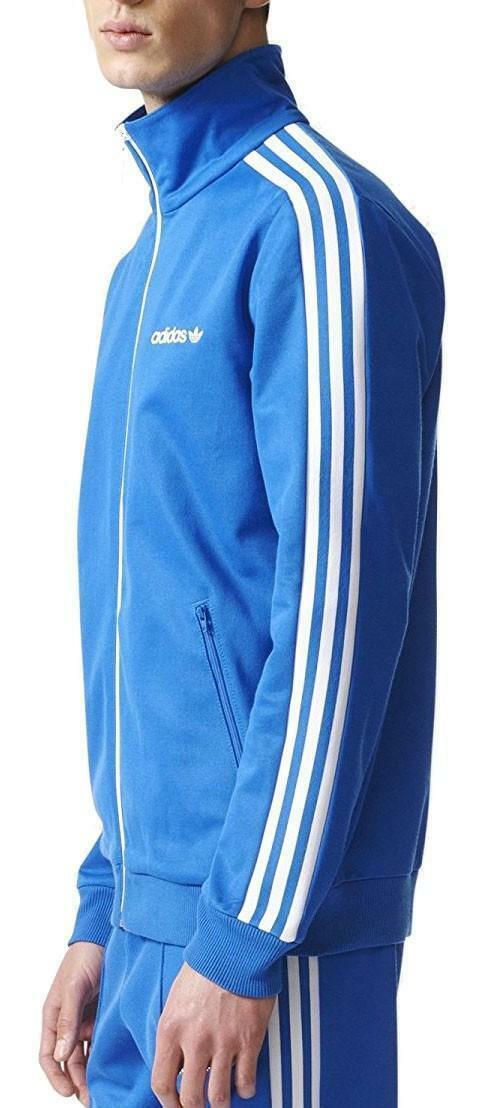 adidas adidas bb tracktop giacchetto uomo azzurro