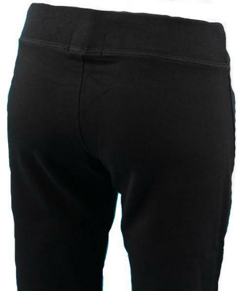 converse converse leggings donna neri cotone elasticizzati